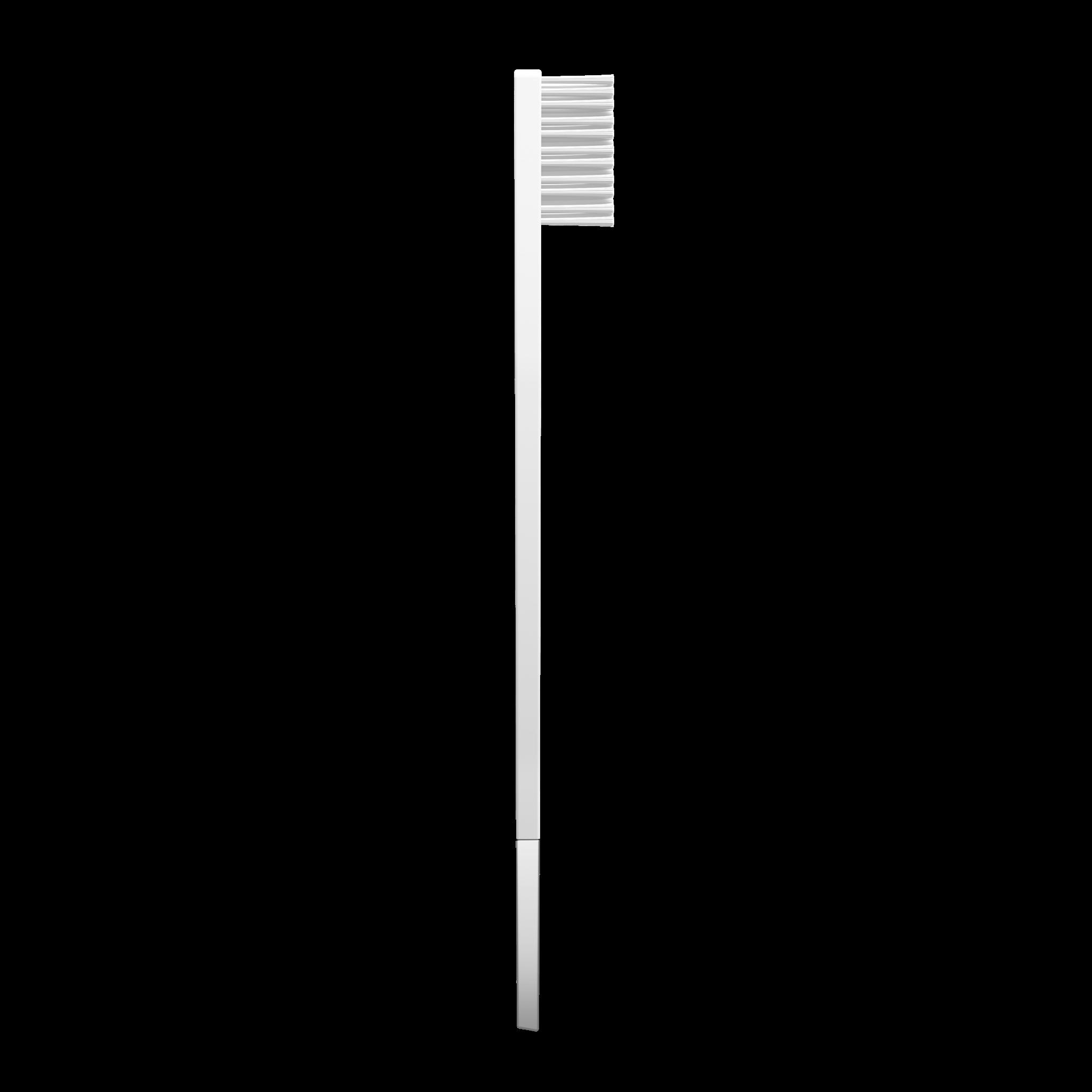 Дизайнерская зубная щётка SLIM by Apriori белая с серебром