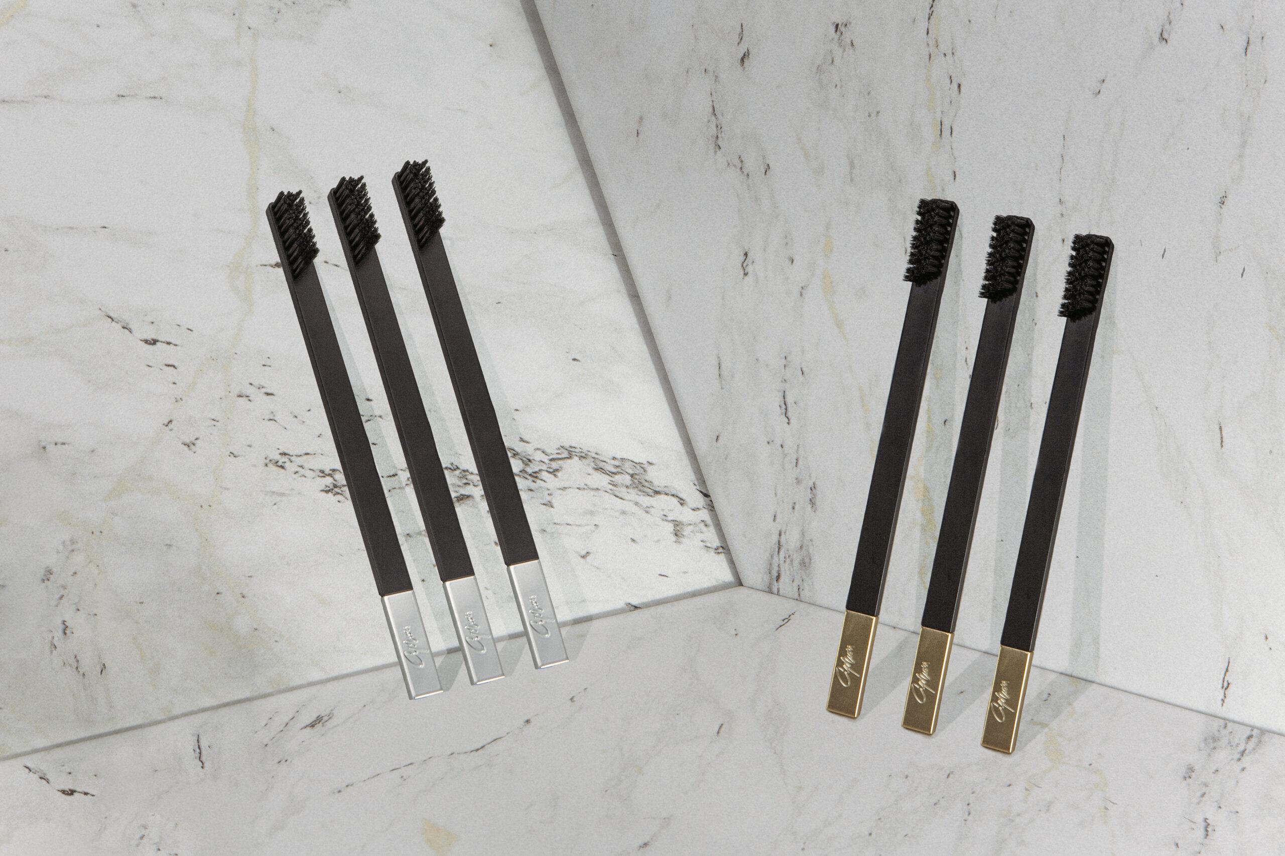 Дизайнерские зубные щетки slim by apriori - зубная щетка как бьюти-аксессуар